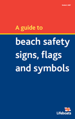 RNLI Beach Safety Signs Flags and Symbols
